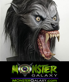 An American Werewolf in London Wolf Bust 1:1 scale collectible Lycans Mask