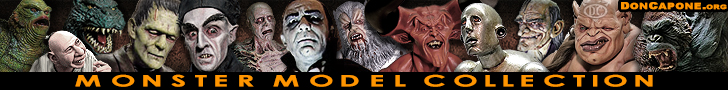 Monster Model Kits Collectible Horror Model Kits Collectible Sci-Fi Model Kits